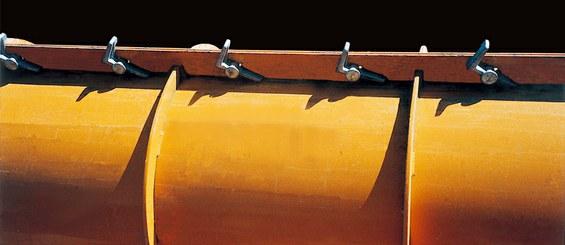 Unión de paneles sencilla con Cerrojo