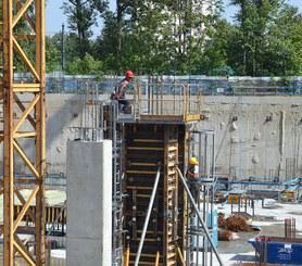 Seguridad garantizada en el hormigonado de pilares