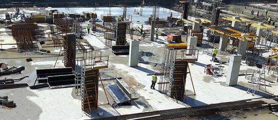 Sistema rentable y seguro para la construcción de pilares