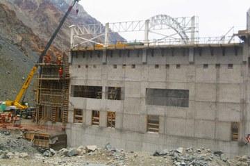 Central hidroeléctrica San Andrés, San Fernando - VI Región, Chile