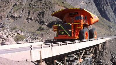 Puente Confluencia, Saladillo Los Andes, V region, Chile