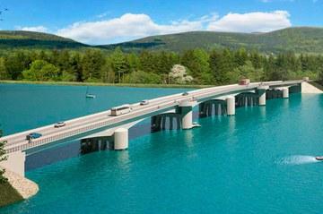 Puente Santa Elvira, Valdivia, Chile