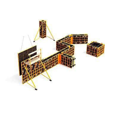 Moldaje modular ligero COMAIN