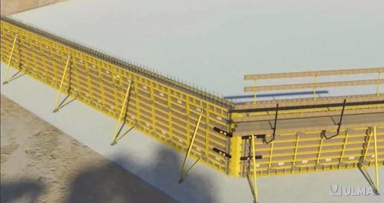 Moldaje modular semi-ligero NEVI