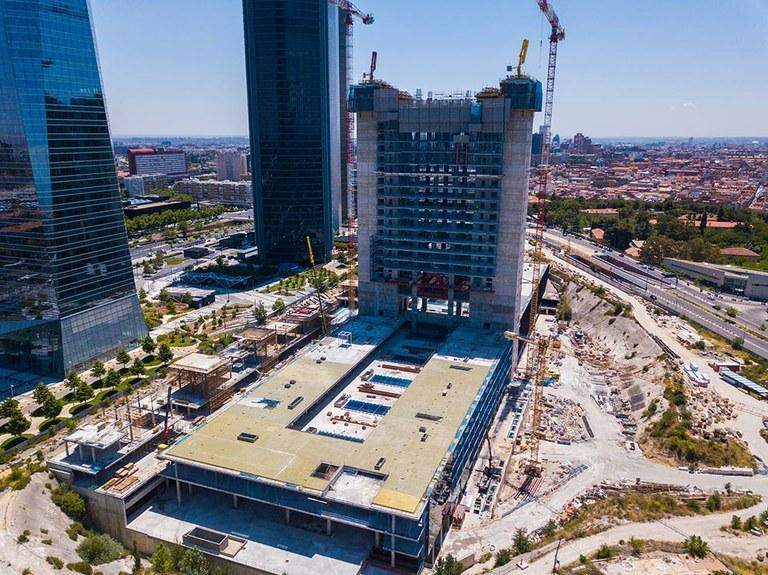 Caleido, nuevo rascacielos en el skyline de Madrid