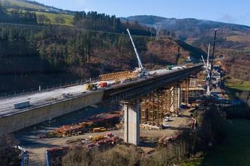 El carácter modular de los moldajes ULMA, clave en el viaducto de Antzuola