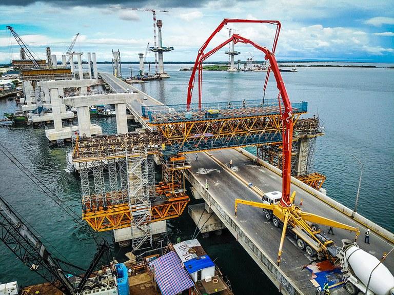 Moldajes ULMA para una infraestructura de gran envergadura en Filipinas