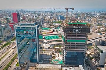 Nueva torre en el centro de Lima